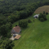 Aerial Photography Missouri Farm
